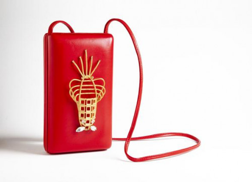 Lobster Bag Cl - Red by Sonia Petroff on curated-crowd.com