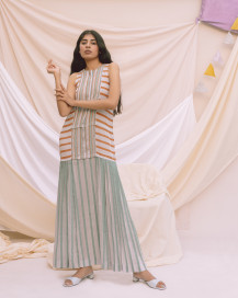 Vrinda Dress by Little Things Studio on curated-crowd.com