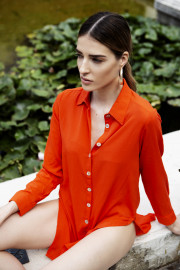 Lara Shirt Dress by Van Dalsky on curated-crowd.com