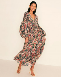 Amelie Dress - Clio Print by ILTA Studio on curated-crowd.com