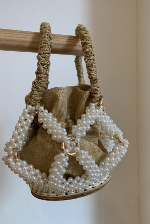 Honey Star Bucket Bag by 0711 Tbilisi on curated-crowd.com