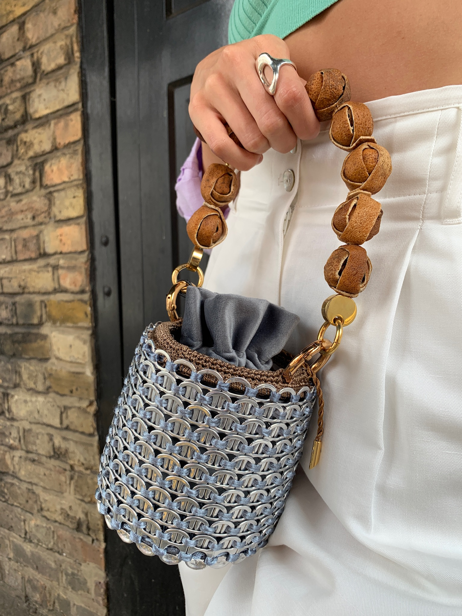 Celli Bucket Bag Mini Size by TDL Vanguard Crafts on curated-crowd.com