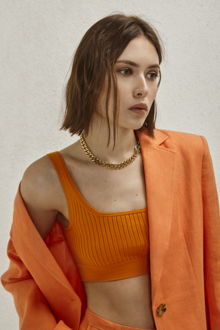 Knitted Top by AG Studio on curated-crowd.com