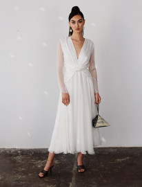 All Cosmic Midi Dress by Manurí on curated-crowd.com