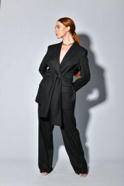 Tie-waist Blazer by Z.G.EST on curated-crowd.com