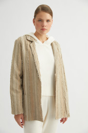 Capri Linen Jacket by Labeca London on curated-crowd.com
