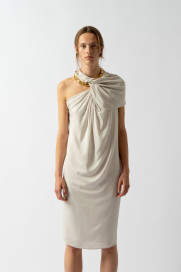 Twist Neck Dress by Sharon Wauchob on curated-crowd.com