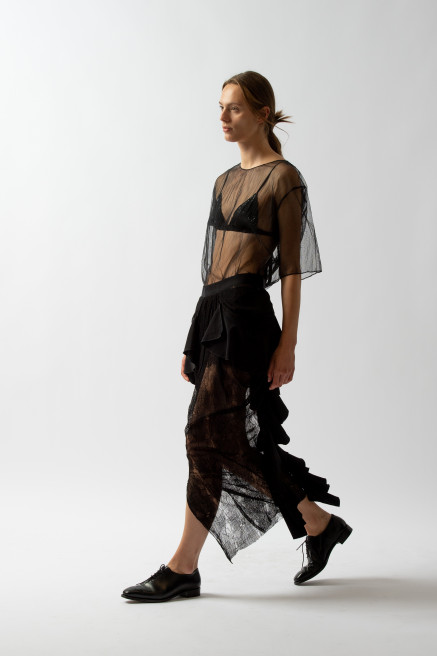 Neo Tulle T-Shirt by Sharon Wauchob on curated-crowd.com
