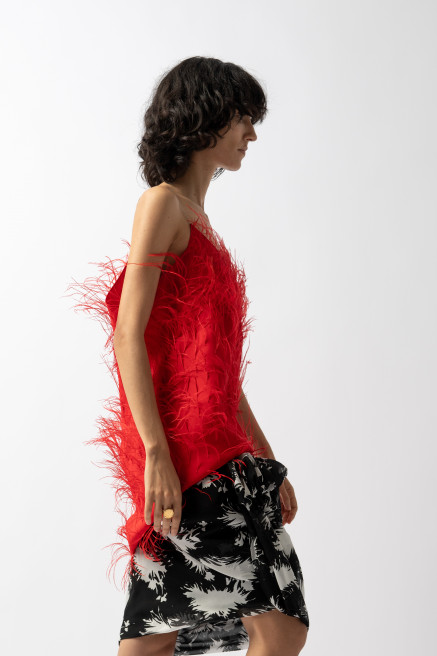 Puff Drape Skirt by Sharon Wauchob on curated-crowd.com