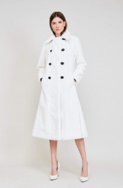 Catherine Reversible Coat by Maison Atia on curated-crowd.com