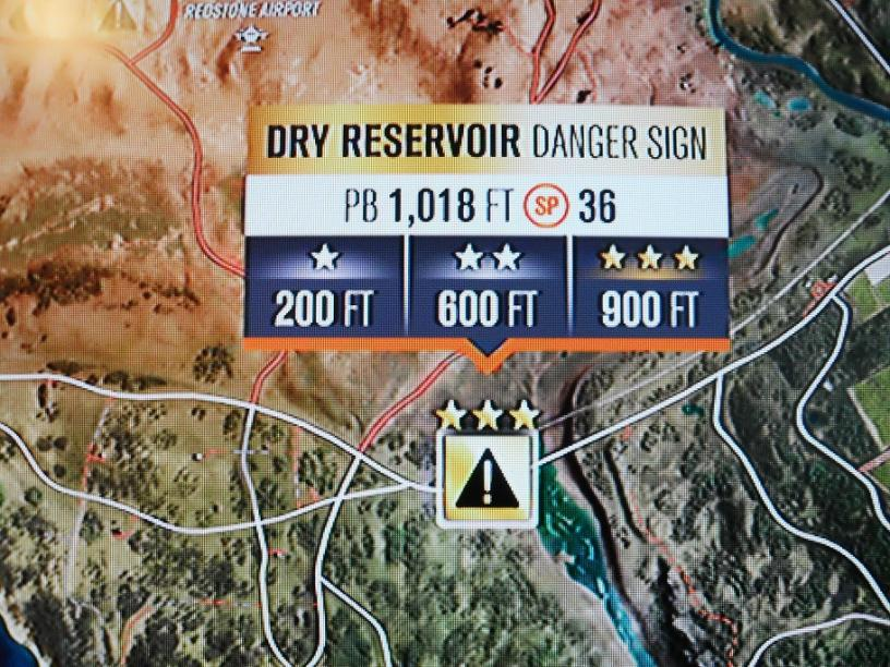 Danger Sign → Dry Reservoir – Video game high scores and fast times