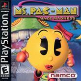 Ms. Pac-Man Maze Madness (PS)