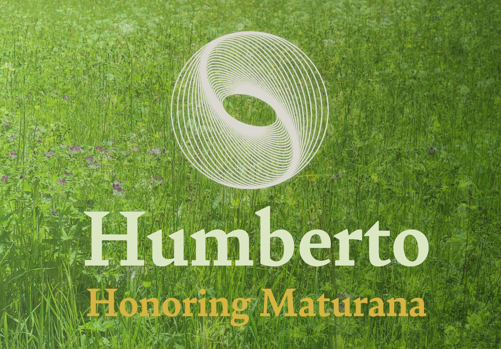 Logo for the festschrift programme honouring Humberto Maturana