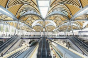 Euston Station concept, HS2