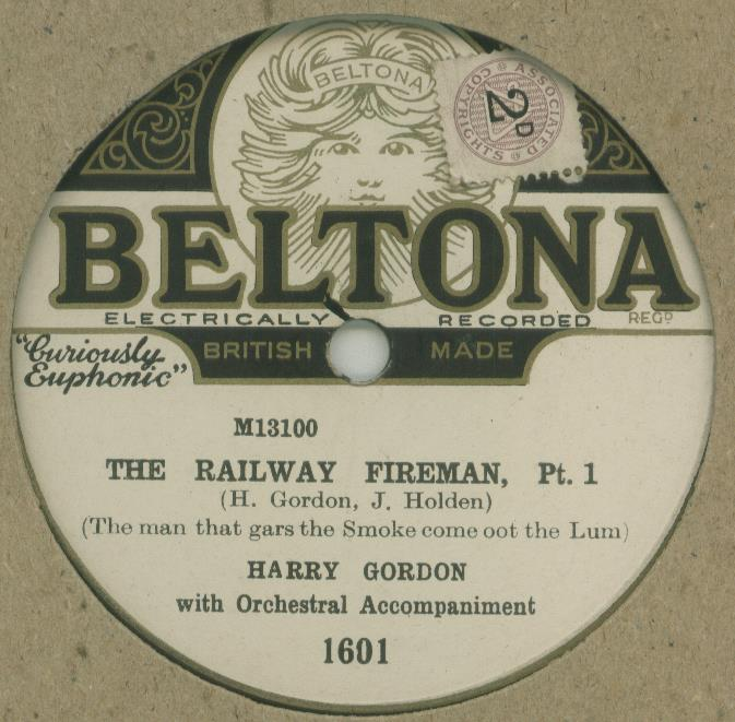 harry gordon the railway fireman