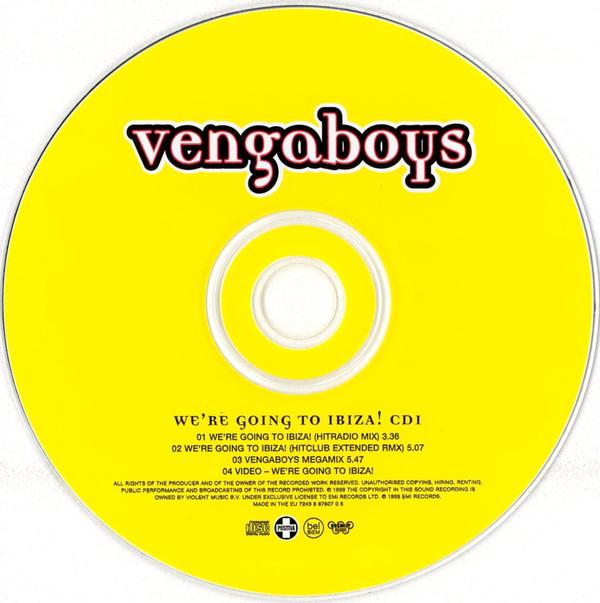 VENGABOYS - We're Going To Ibiza! - CD