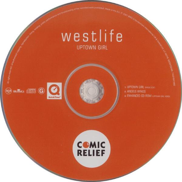 WESTLIFE - Uptown Girl - CD