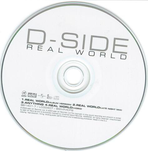 D-SIDE - Real World - CD