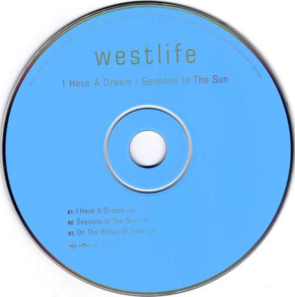 WESTLIFE - I Have A Dream / Seasons In The Sun - CD