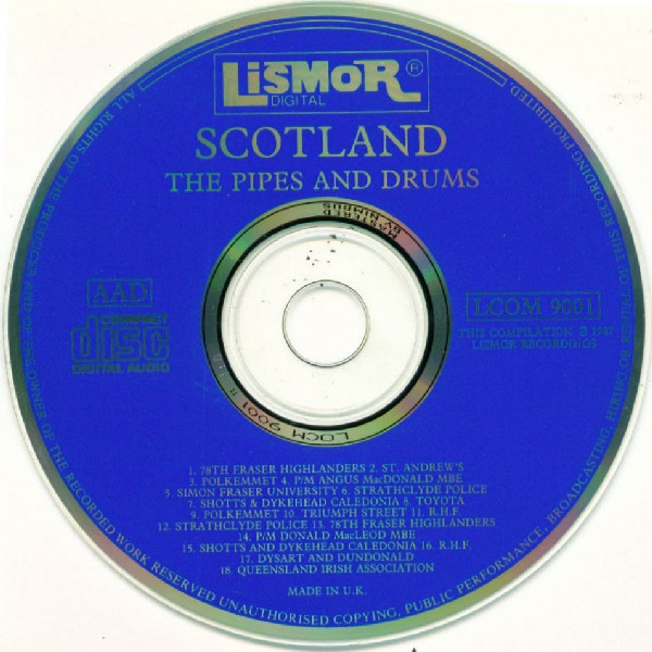 VARIOUS - Scotland - The Pipes And Drums - CD