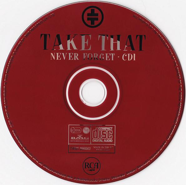 TAKE THAT - Never Forget - CD