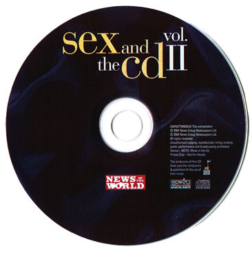 VARIOUS - Sex And The CD Vol. II - CD