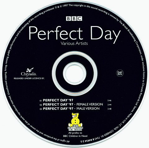 VARIOUS - Perfect Day - CD