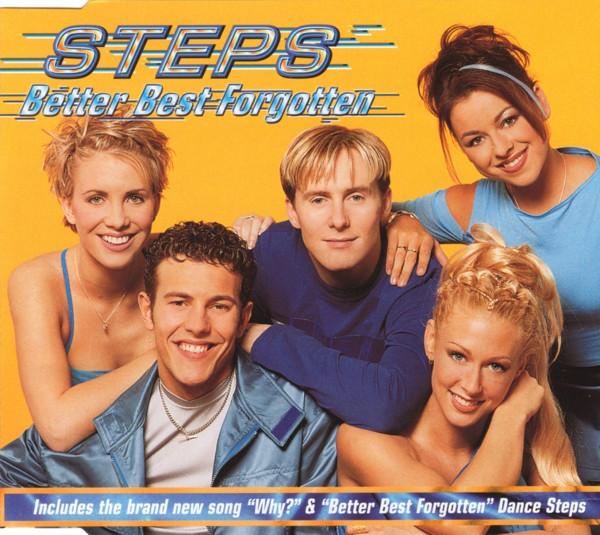 STEPS - Better Best Forgotten - CD