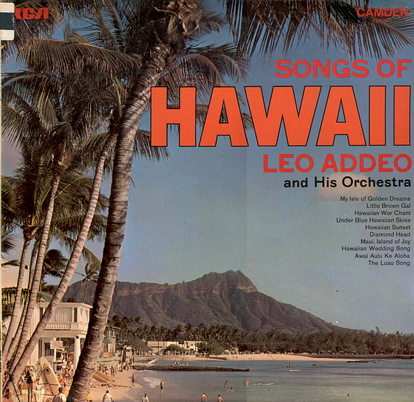 LEO ADDEO AND HIS ORCHESTRA - Songs Of Hawaii - LP