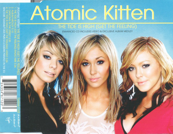 ATOMIC KITTEN - The Tide Is High (Get The Feeling) - CD