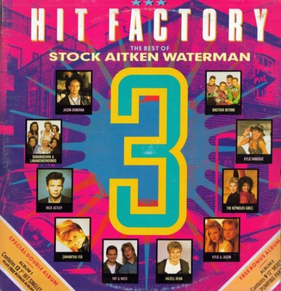 VARIOUS - Hit Factory 3 - The Best Of Stock Aitken Waterman - LP x 2