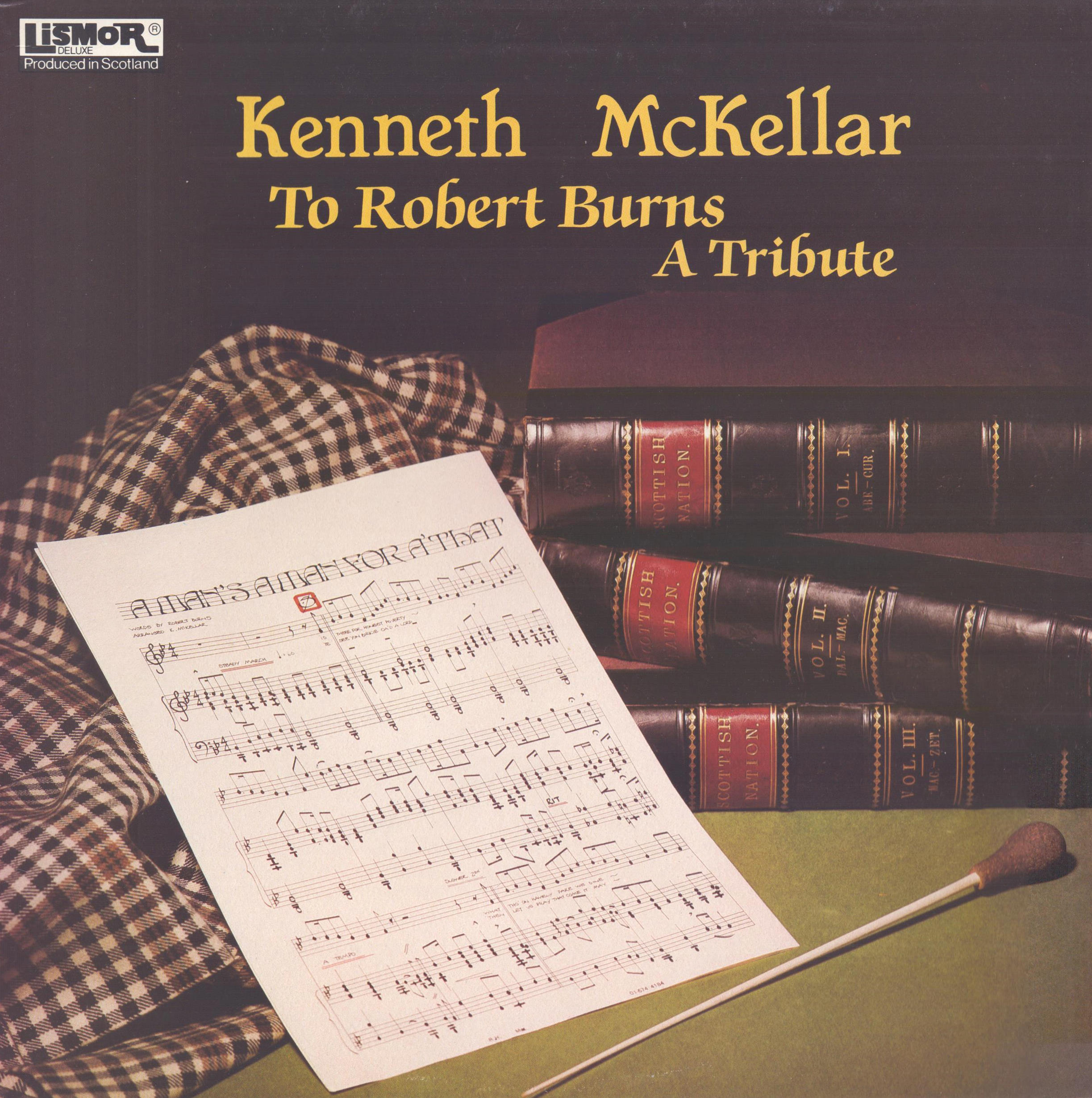 KENNETH MCKELLAR - To Robert Burns - A Tribute - 33T