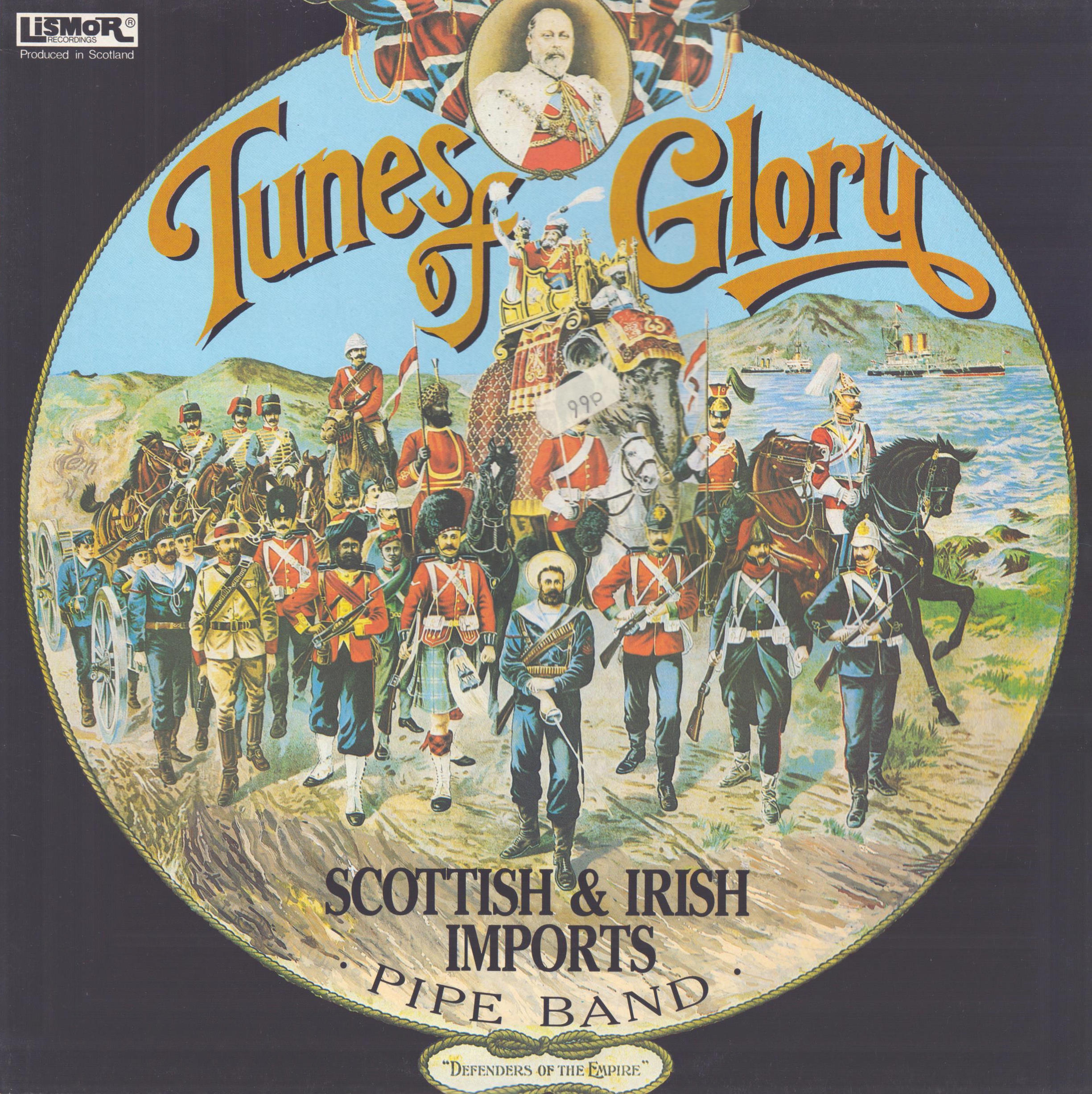 SCOTTISH & IRISH IMPORTS PIPE BAND - Tunes Of Glory - 33T