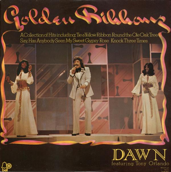 DAWN  FEATURING TONY ORLANDO - Golden Ribbons - LP