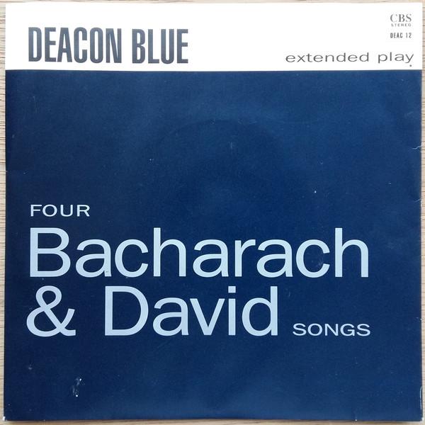 DEACON BLUE - Four Bacharach & David Songs - 7inch x 1