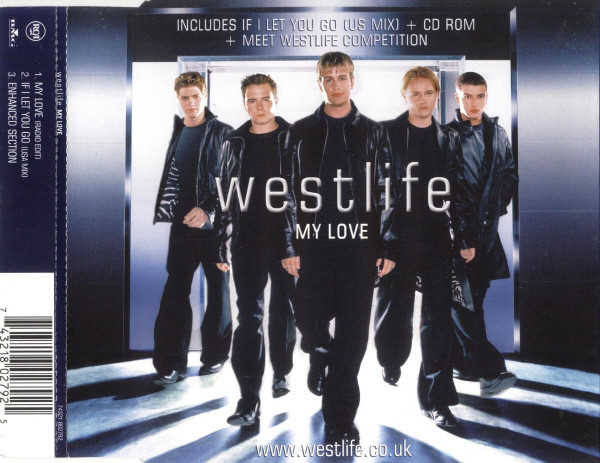 WESTLIFE - My Love - CD