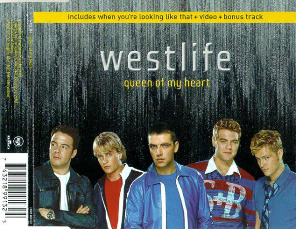 WESTLIFE - Queen Of My Heart - CD