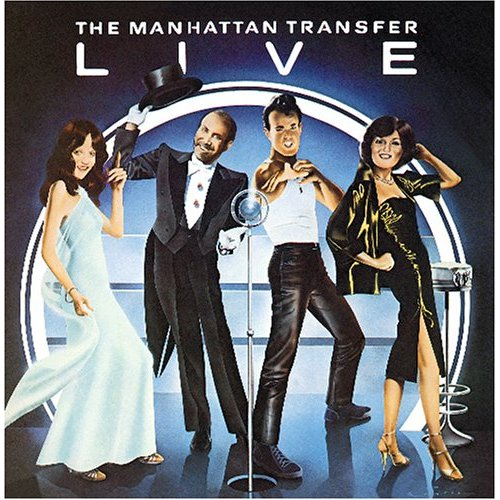 THE MANHATTAN TRANSFER - Live - LP