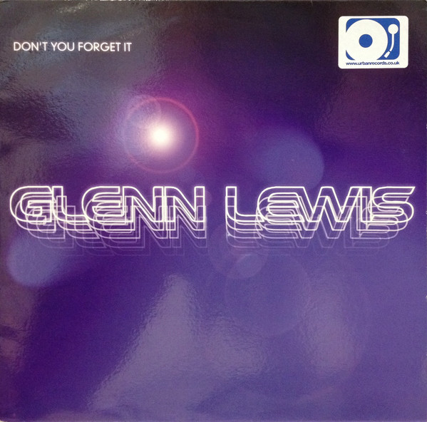 GLENN LEWIS - Don't You Forget It - 12 inch x 1