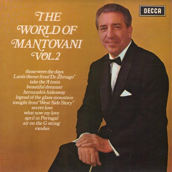 MANTOVANI AND HIS ORCHESTRA - The World Of Mantovani Vol. 2 - LP