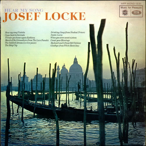 JOSEF LOCKE - Hear My Song - LP