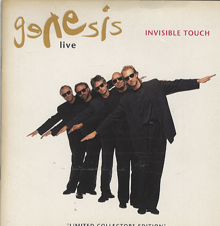 GENESIS - Invisible Touch (Live) - 45T x 1