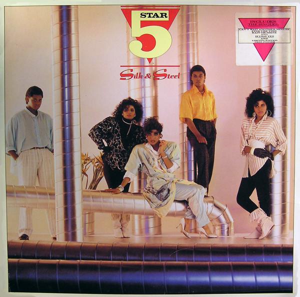FIVE STAR - Silk & Steel - LP