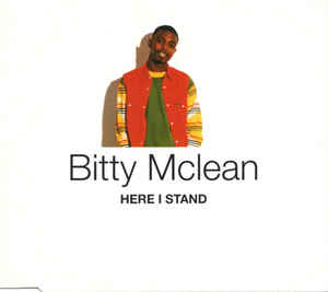 BITTY MCLEAN - Here I Stand - CD