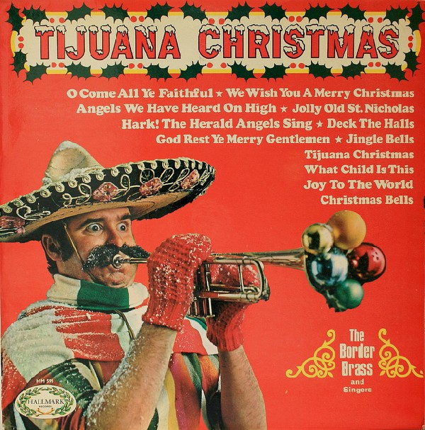 THE BORDER BRASS - Tijuana Christmas - LP