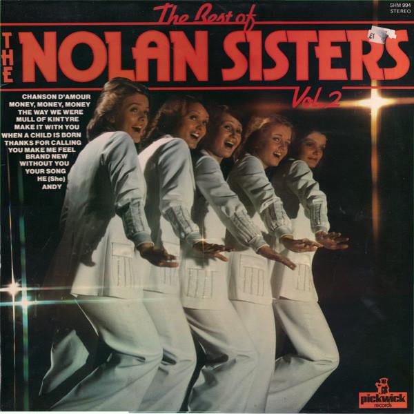 THE NOLANS - The Best Of The Nolan Sisters - Vol. 2 - LP