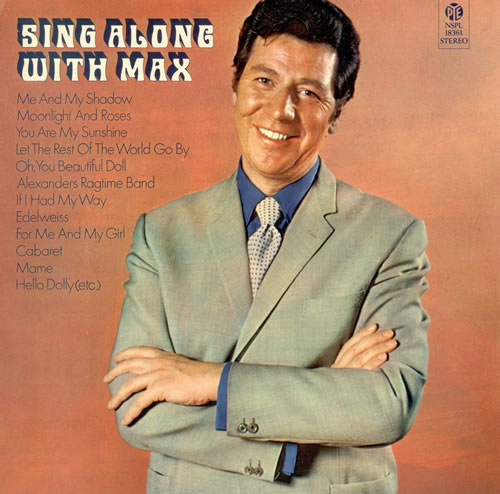 MAX BYGRAVES - Sing Along With Max - LP