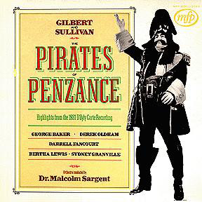 Gilbert & Sullivan Highlights From The Pirates Of Penzance