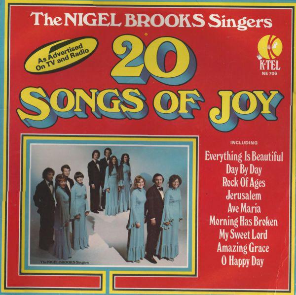 THE NIGEL BROOKS SINGERS - 20 Songs Of Joy - LP