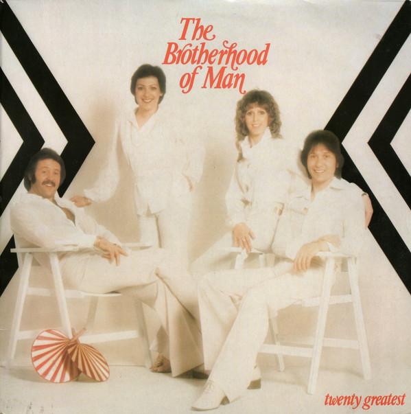 BROTHERHOOD OF MAN - Twenty Greatest - LP